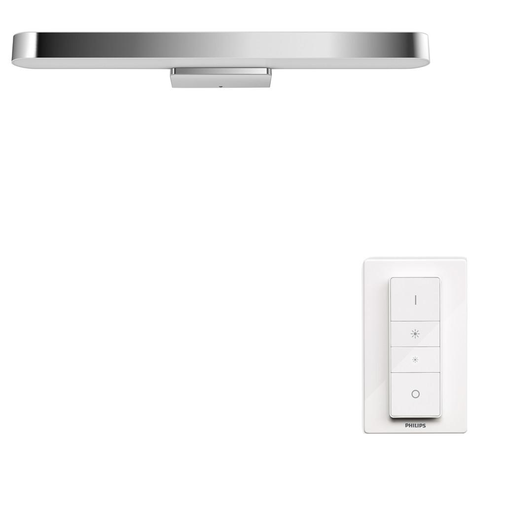 Philips Hue Adore badkamerspiegellamp White Ambiance chroom