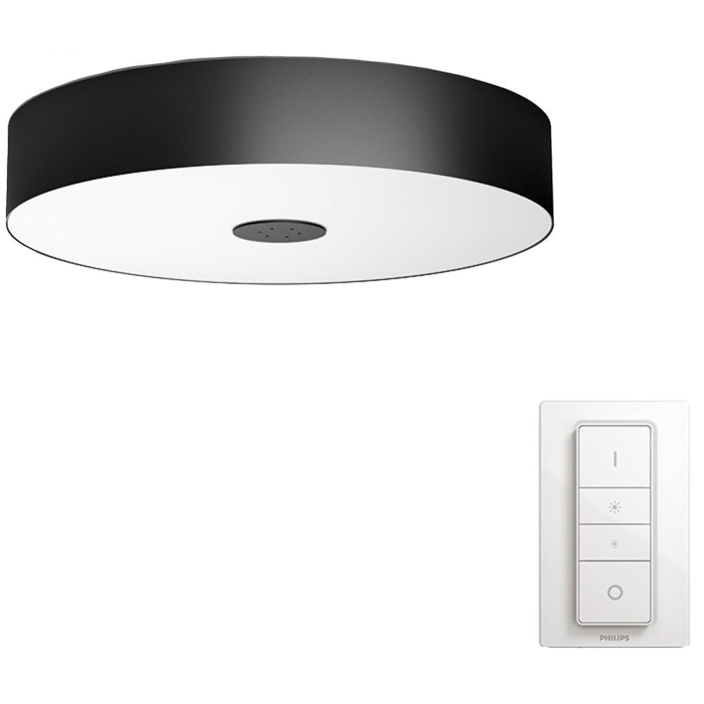 Philips Hue Fair plafondlamp White Ambiance Bluetooth Zwart