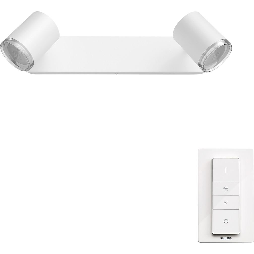 Philips Hue Adore badkameropbouwspot White Ambiance 2-lichts Wit