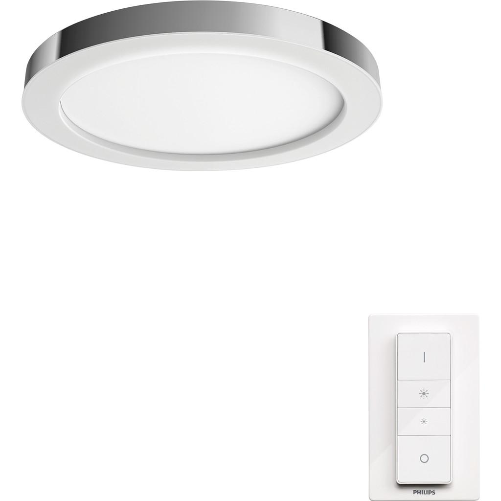 Philips Hue Adore badkamerplafondlamp White Ambiance chroom