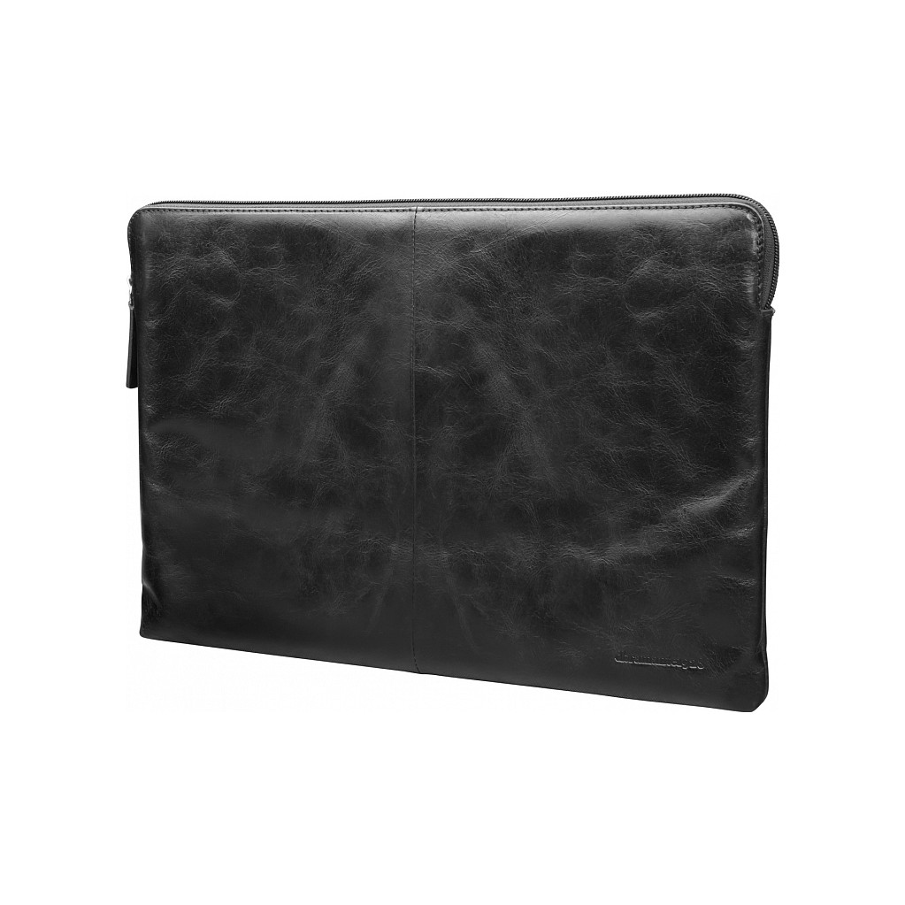 dbramante1928 Skagen 15 inch MacBook Sleeve Leer Zwart