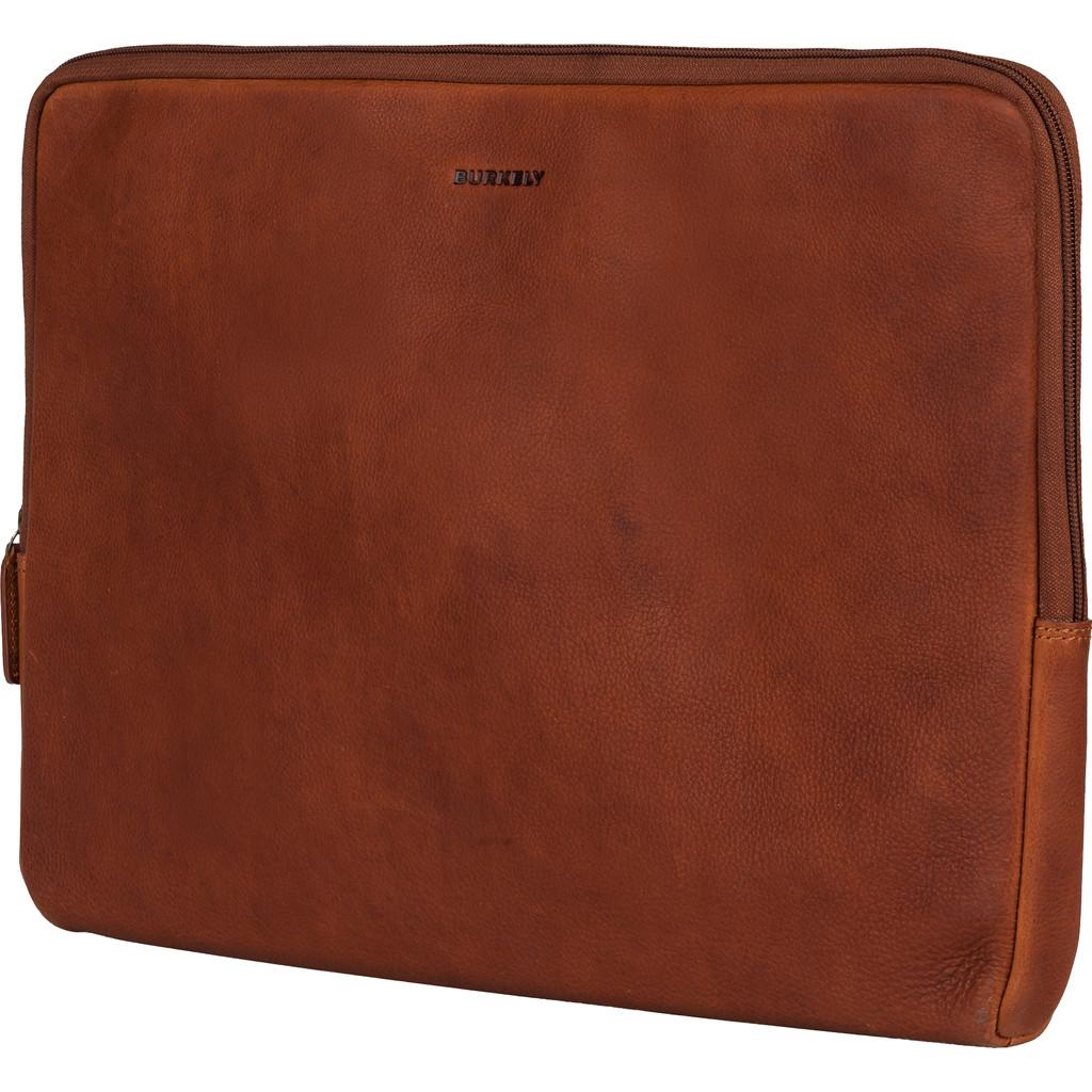 Burkely Antique Avery Laptop Sleeve 15.6'' Cognac
