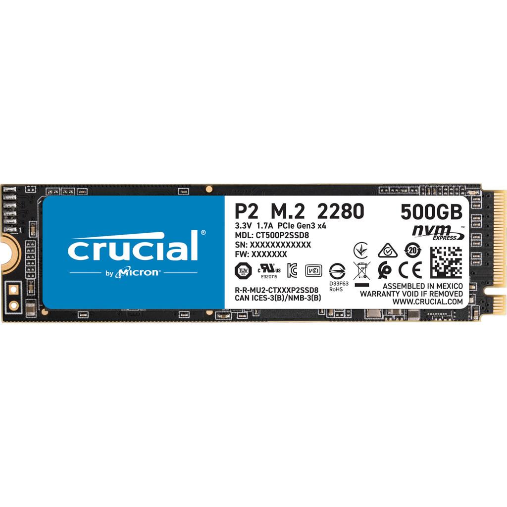 Crucial P2 SSD 500 GB kopen