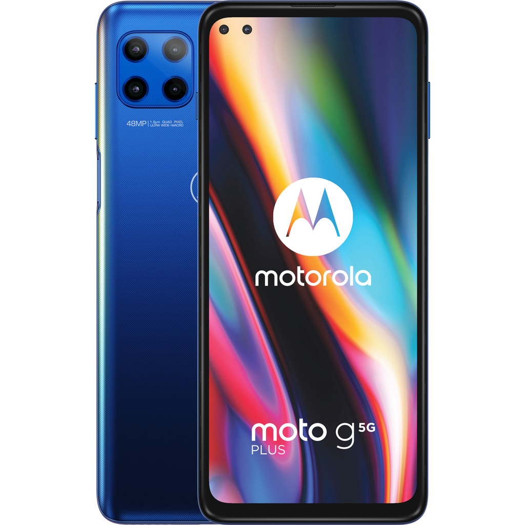 Tweedekans Motorola Moto G 5G Plus 64GB Blauw