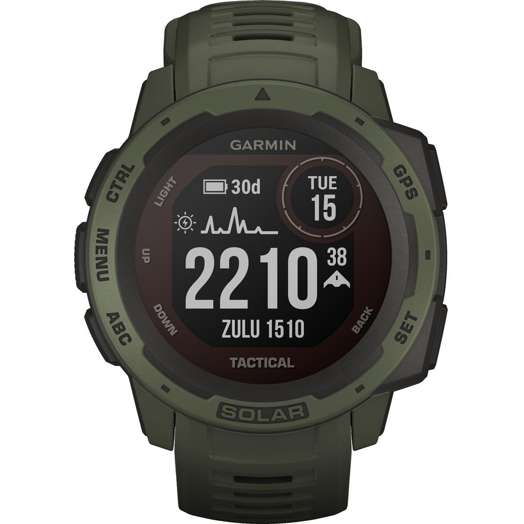 Garmin Instinct Solar GPS Horloge Middengroen