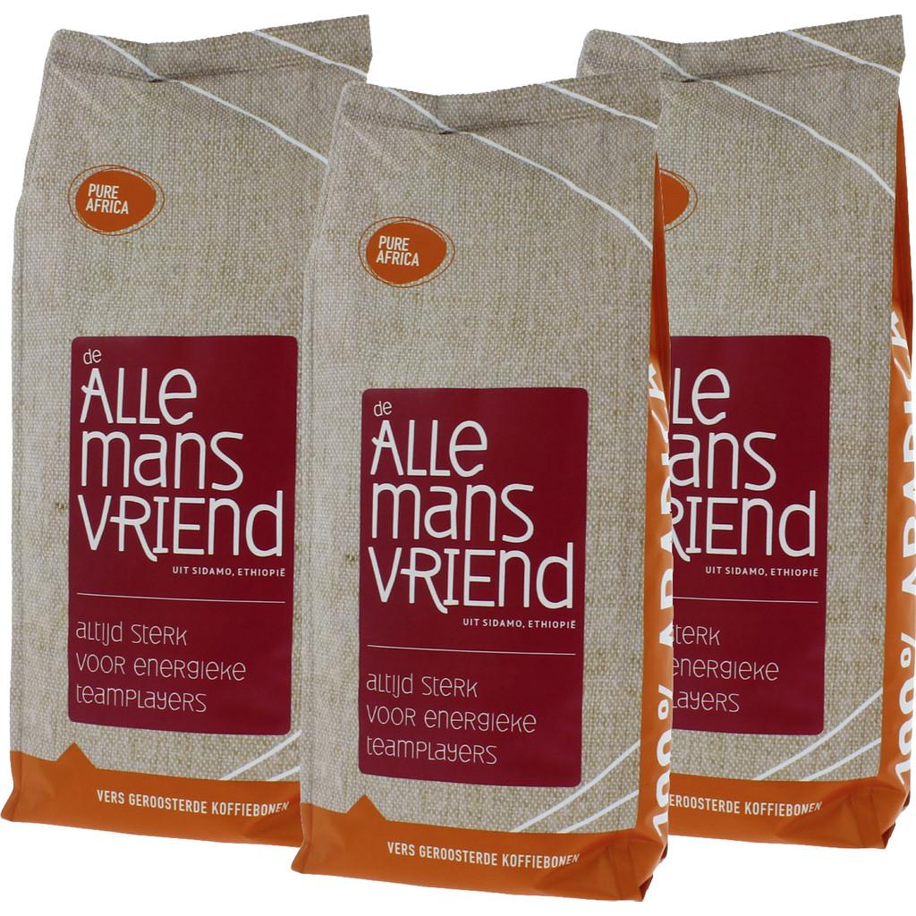 Pure Africa De Allemansvriend Arabica koffiebonen 3 kg