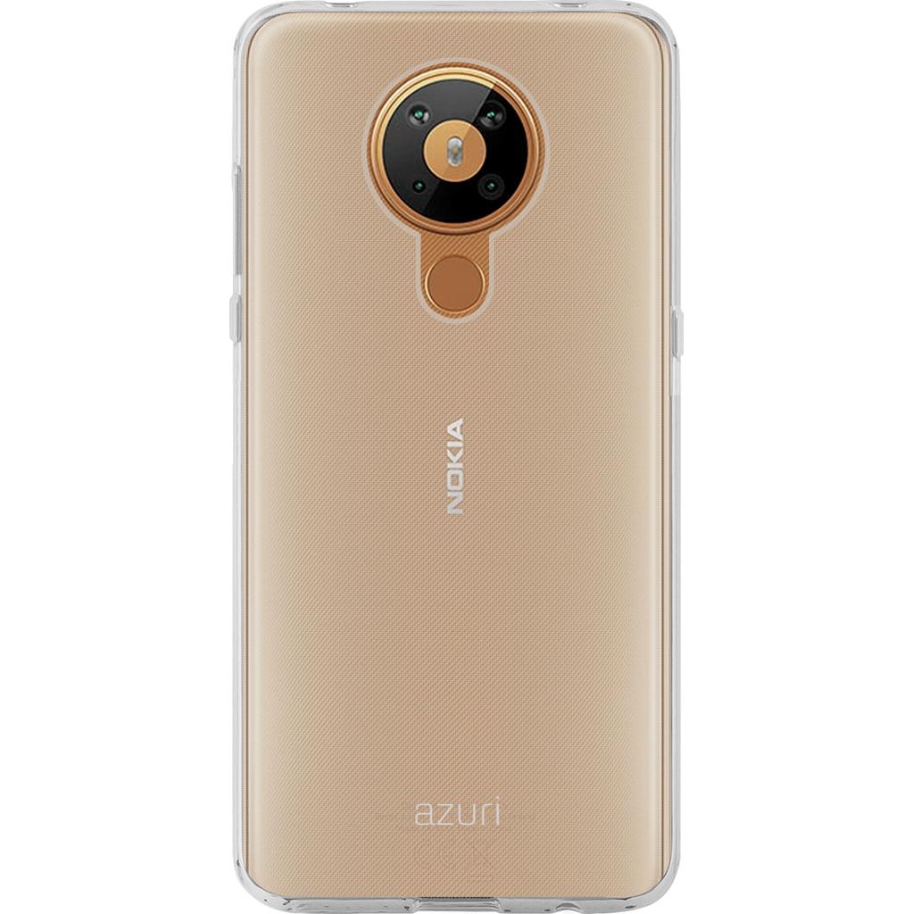 Azuri TPU Nokia 5.3 Back Cover Transparant