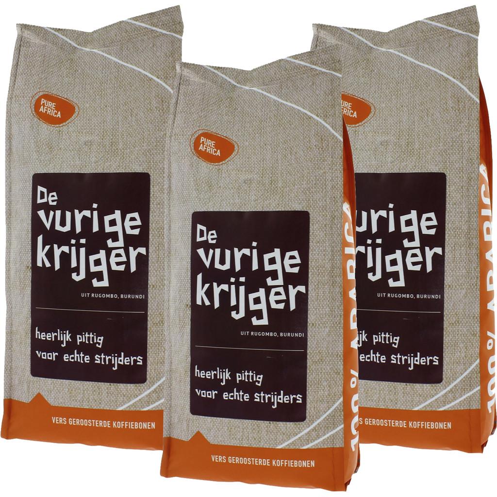 Pure Africa Vurige Krijger Arabica koffiebonen 3 kg