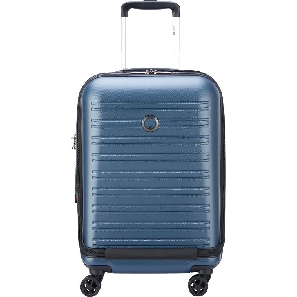 Delsey Segur 2.0 Business Front Pocket Spinner 55cm Blue