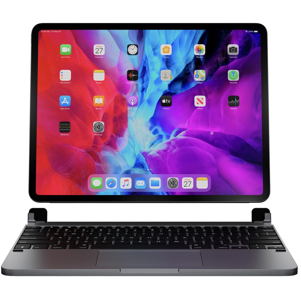Tweedekans Brydge Apple iPad Pro 12,9 inch (2020)/(2018) Toetsenbord Hoes met Touchpad Space Grey