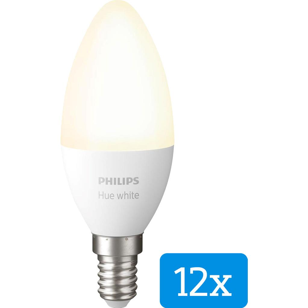 Philips Hue White E14 Bluetooth 12-Pack