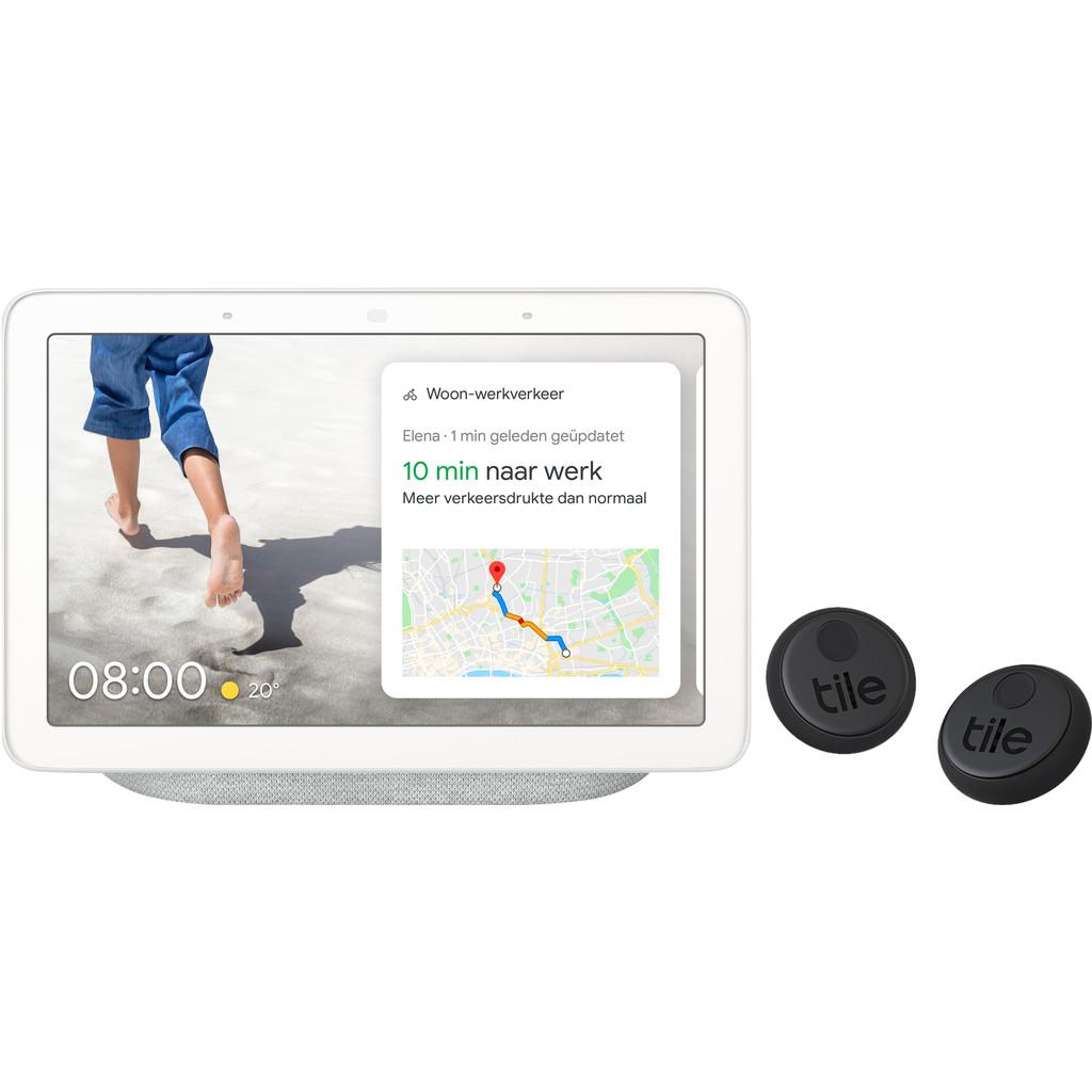 Philips google nest hub chalk tile sticker duo pack