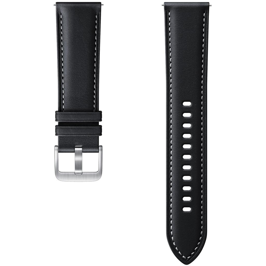 Tweedekans Samsung Galaxy Watch3 41 mm Leren Bandje Zwart 20 mm