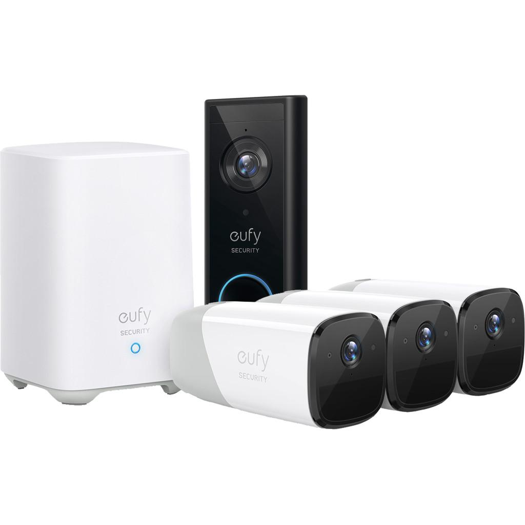 Eufy by Anker Eufycam 2 3 Pack Video Doorbell Battery