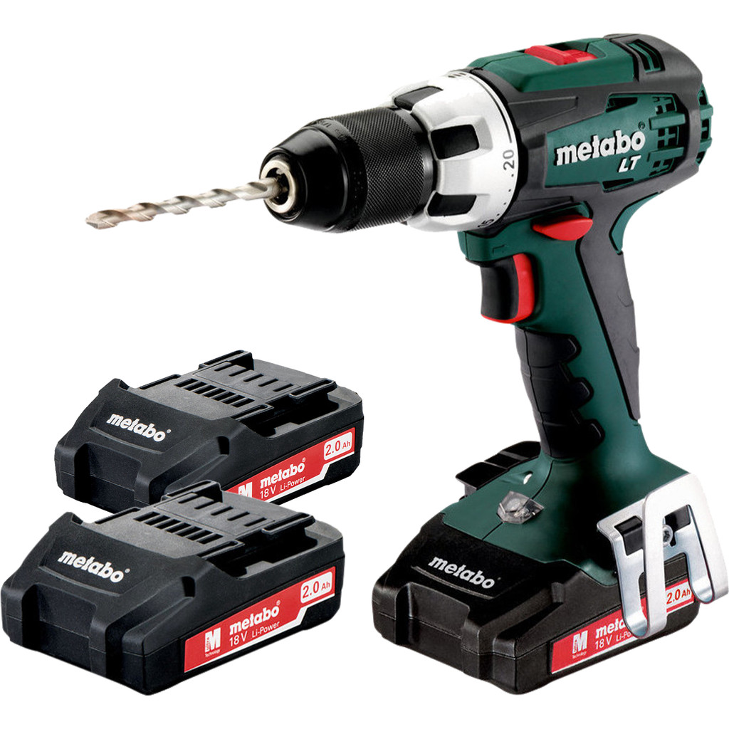 Metabo BS 18 LT 2,0Ah Accuboormachine + Metabo 18V 2,0 Ah accu