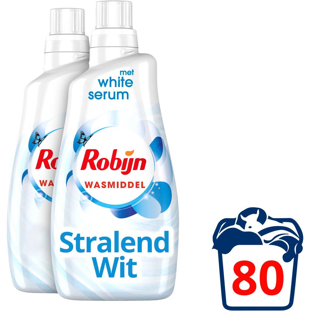Robijn Klein & Krachtig Stralend Wit Wasmiddel - Kwartaalpakket