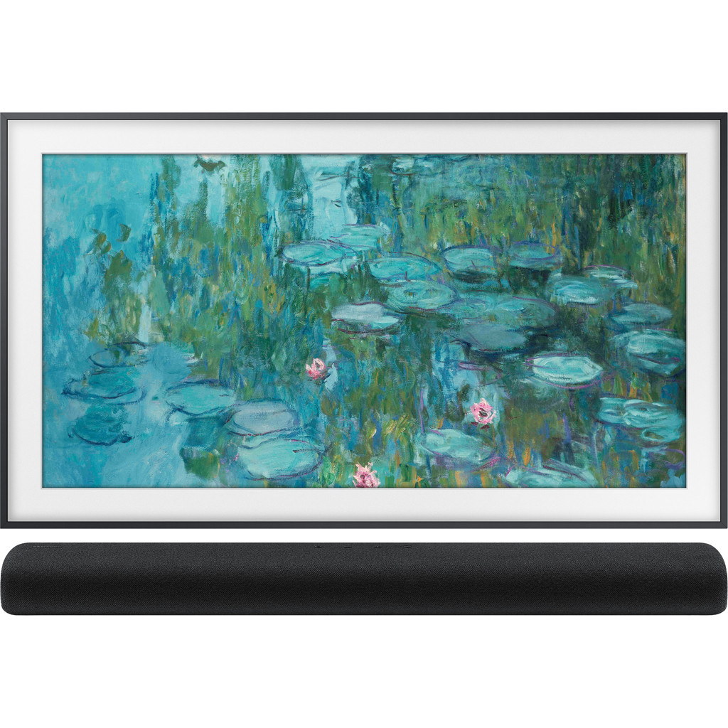 Samsung QLED Frame 43LS03T + Soundbar
