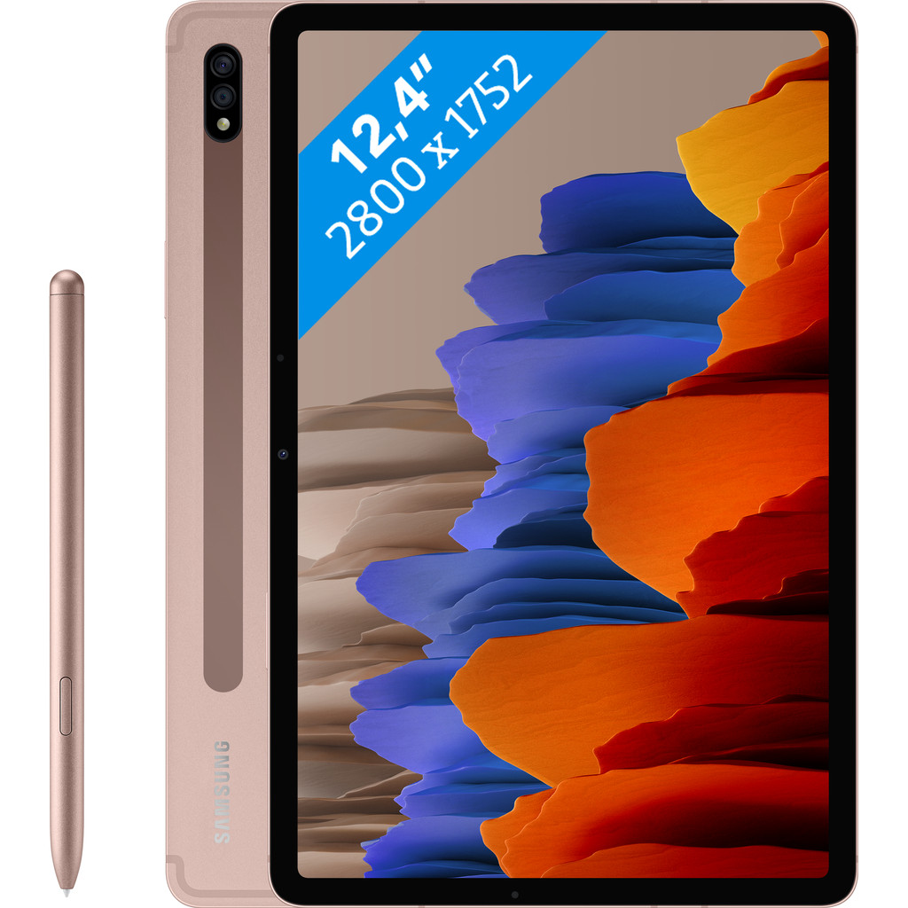 Samsung Galaxy Tab S7 Plus 128GB Wifi Brons