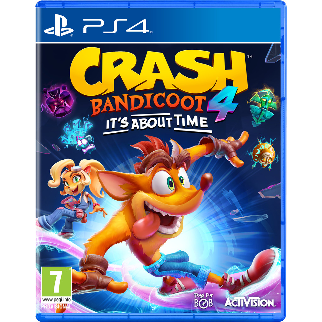 Crash Bandicoot 4 It's about time, (Playstation 4). PS4