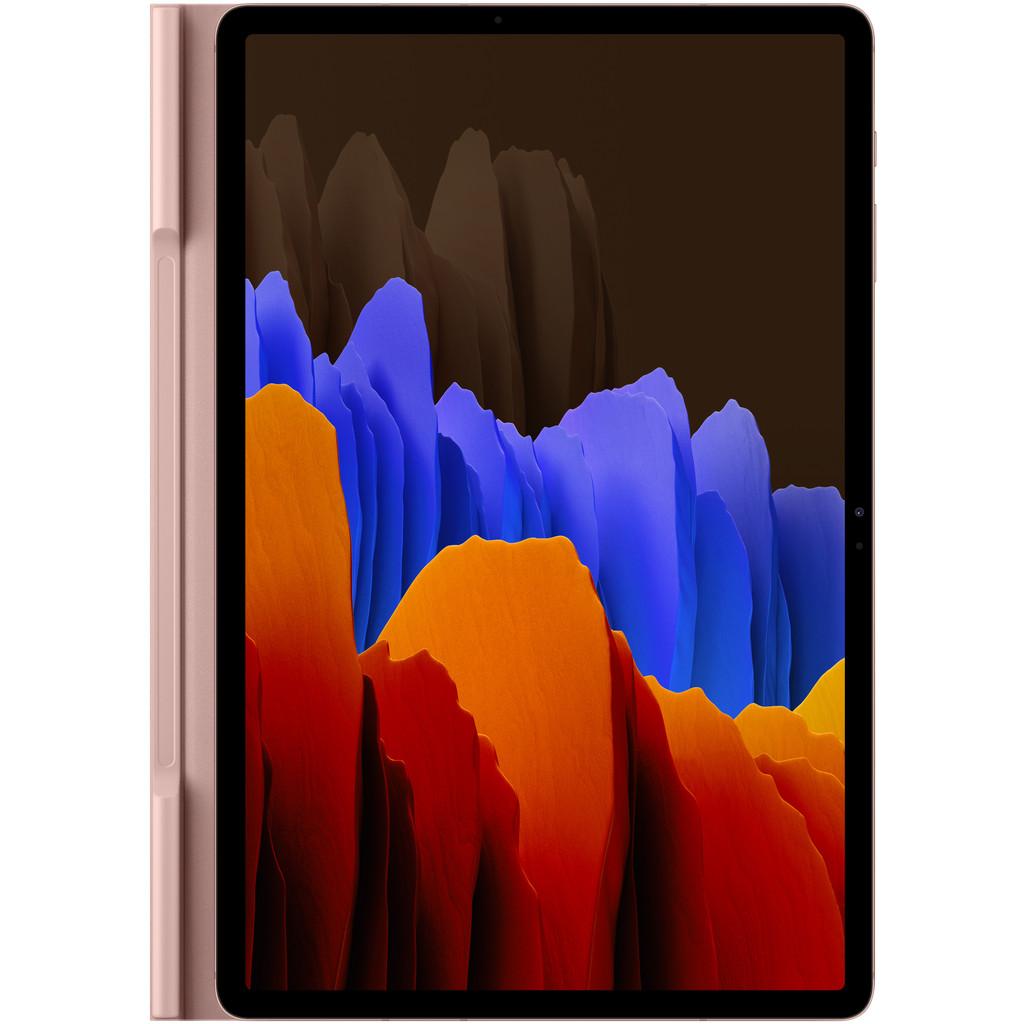 Tweedekans Samsung Galaxy Tab S7 Plus Book Cover Bruin