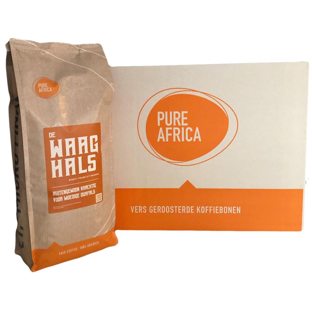 Pure Africa De Waaghals koffiebonen 8 kg