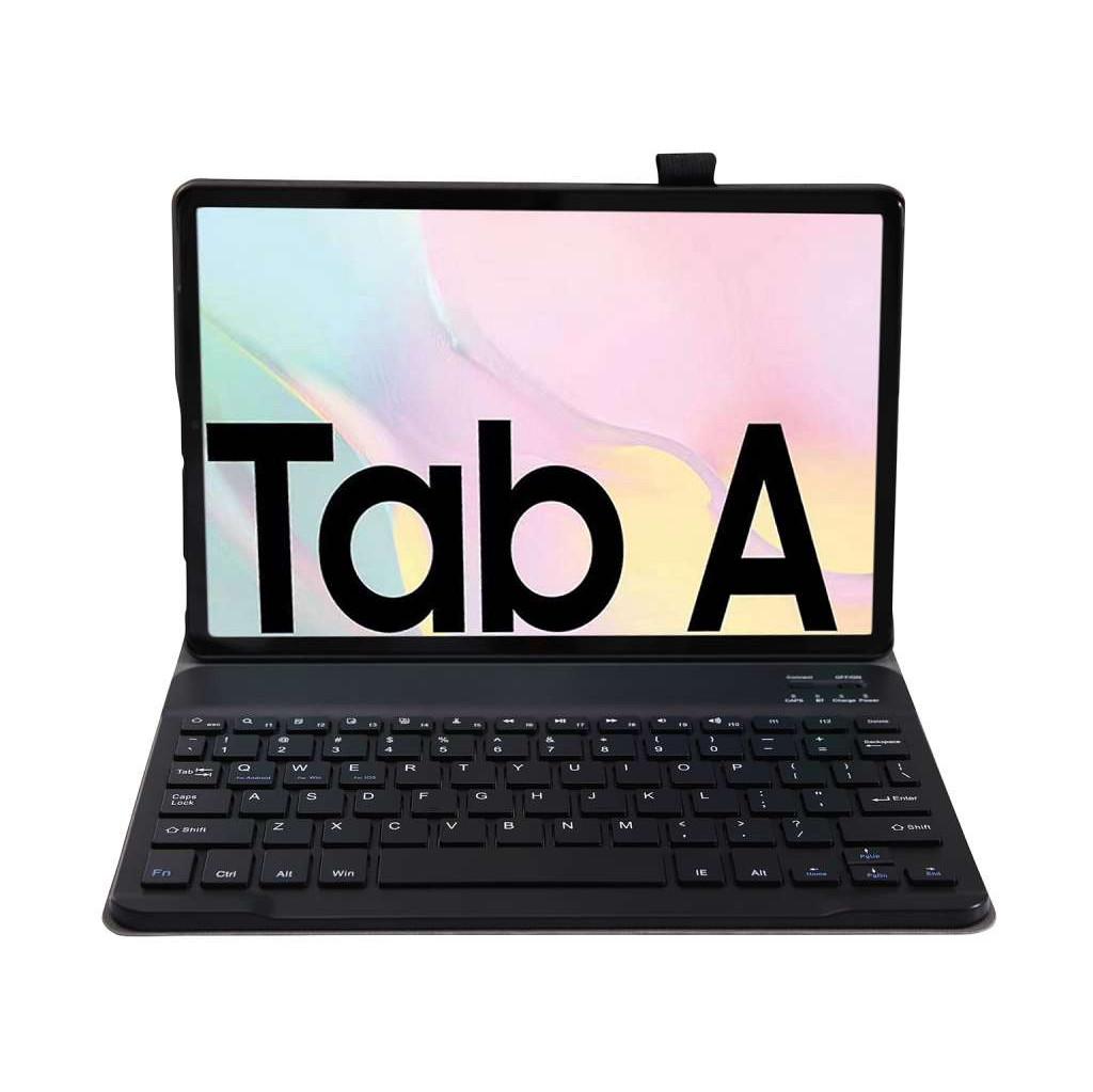 Tweedekans Just in Case Samsung Galaxy Tab A7 (2020) Premium Toetsenbord Hoes Zwart QWERTY