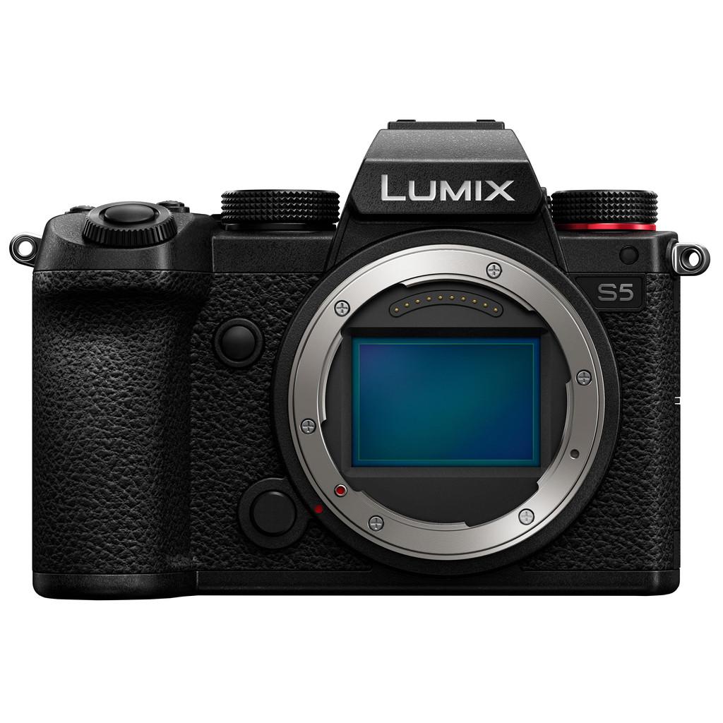 Panasonic Lumix DC-S5 Body-Full frame CMOS sensor  24,2 megapixels  Camerabody zonder lens