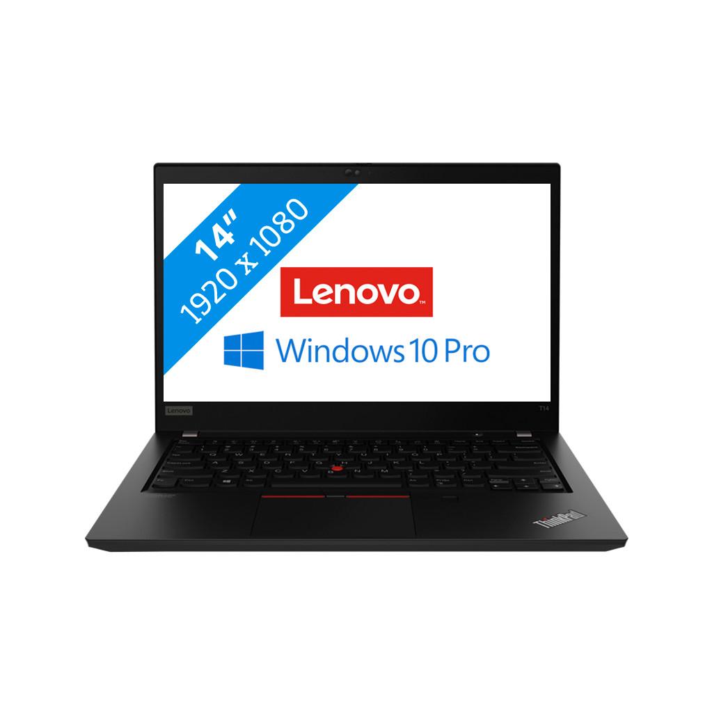 Lenovo ThinkPad T14 Zwart Notebook 35,6 cm (14 ) 1920 x 1080 Pixels Intel® 10de generatie Core© i