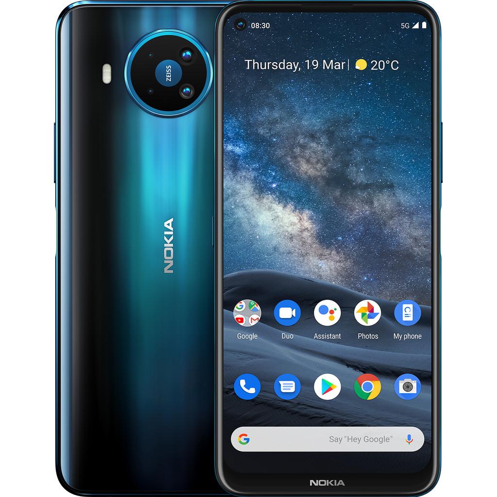 Tweedekans Nokia 8.3 64GB Blauw 5G