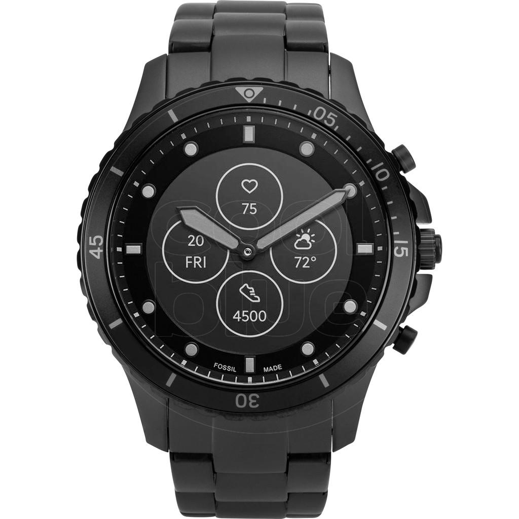 Tweedekans Fossil FB-01 Hybrid HR Smartwatch FTW7017 Zwart