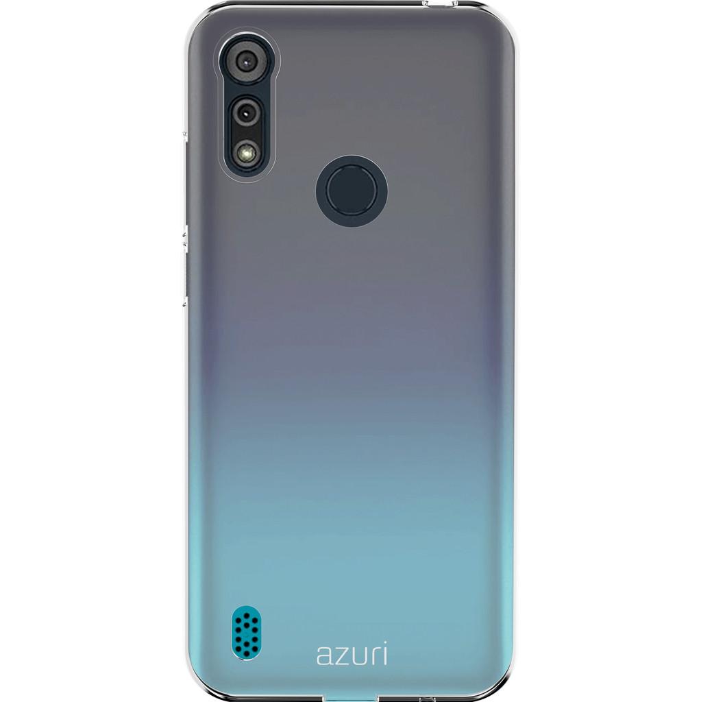 Azuri TPU Motorola Moto E6s Back Cover Transparant