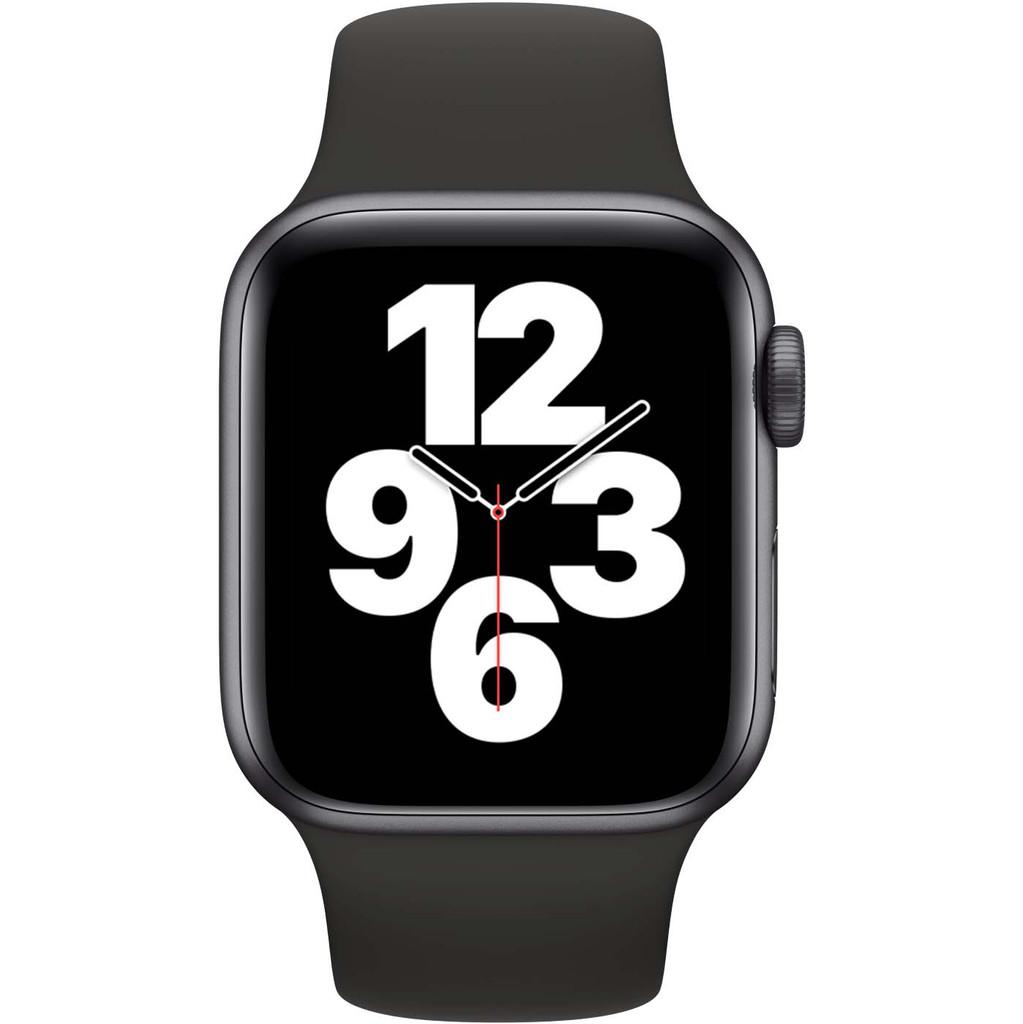 Tweedekans Apple Watch SE 40mm Space Gray Aluminium Zwarte Sportband