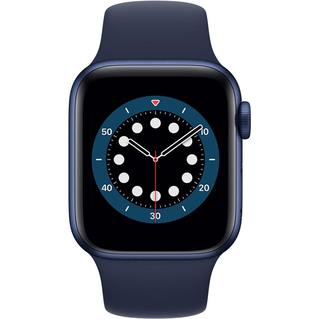 Tweedekans Apple Watch Series 6 40mm Blauw Aluminium Blauwe Sportband