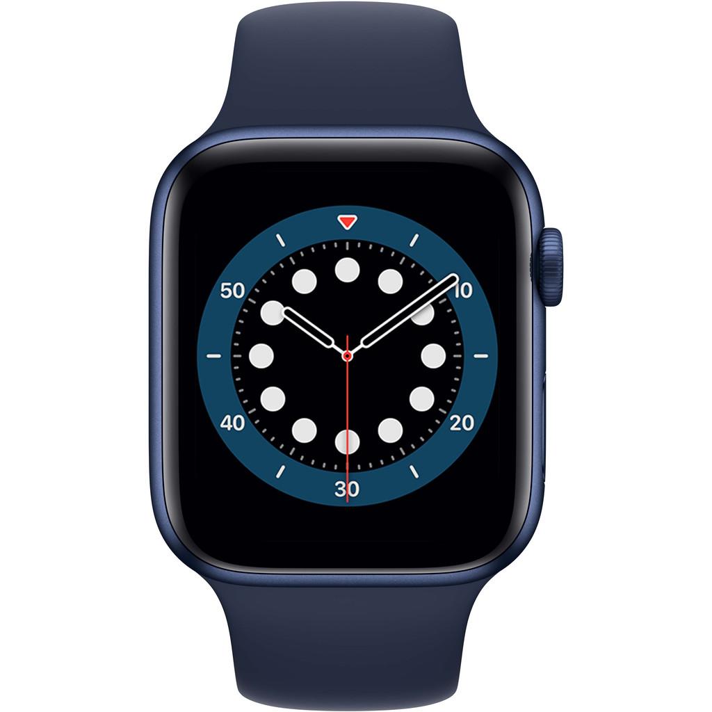 Tweedekans Apple Watch Series 6 44mm Blauw Aluminium Blauwe Sportband