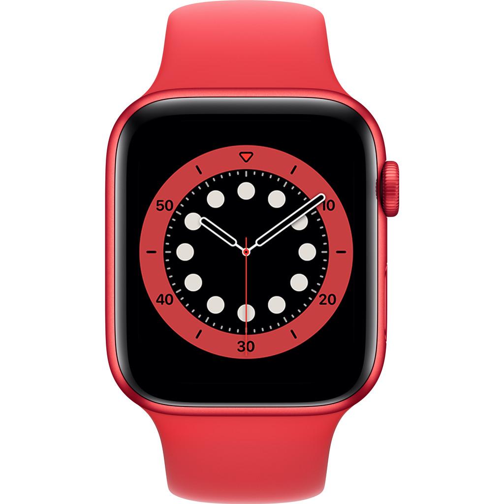Tweedekans Apple Watch Series 6 44mm RED Aluminium RED Sportband