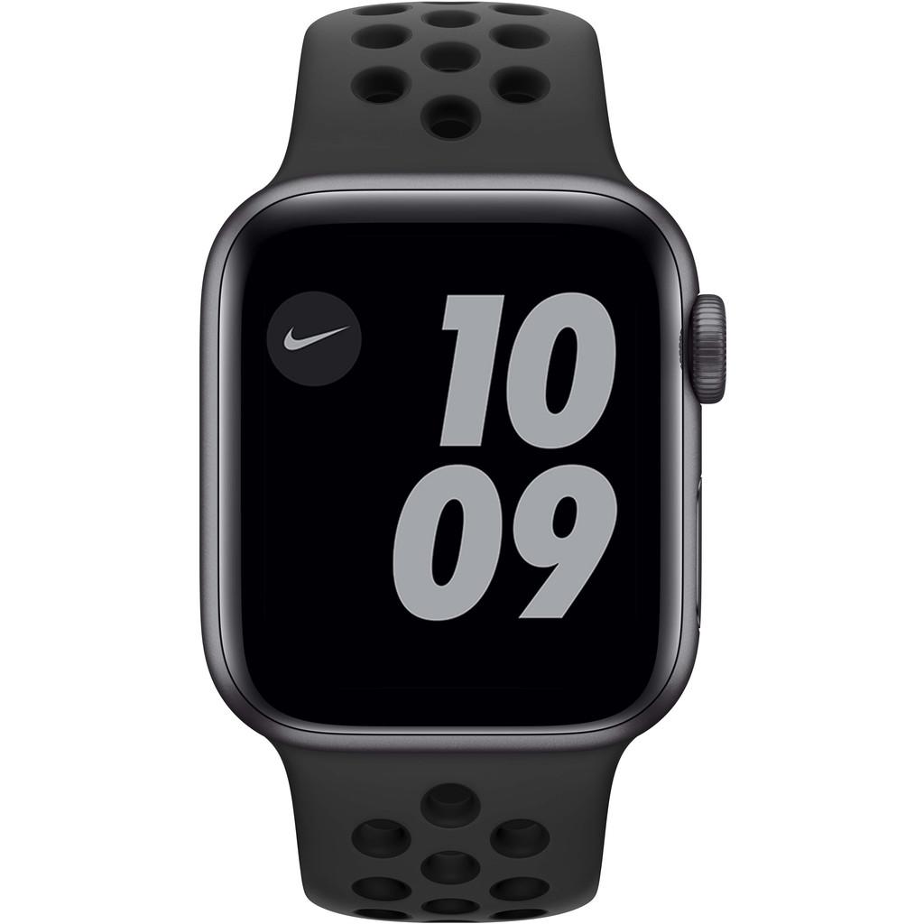 Tweedekans Apple Watch Nike SE 40mm Space Gray Aluminium Zwarte Sportband