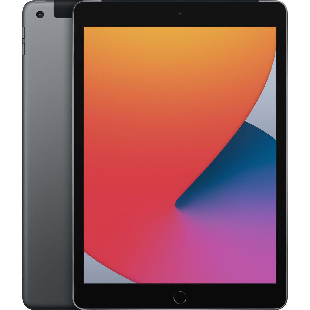 Tweedekans Apple iPad (2020) 10.2 inch 128 GB Wifi + 4G Space Gray