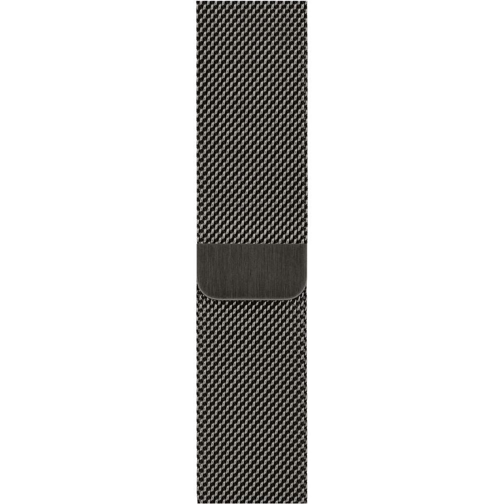 Tweedekans Apple Watch 42/44 mm Polsband Milanees Grafiet