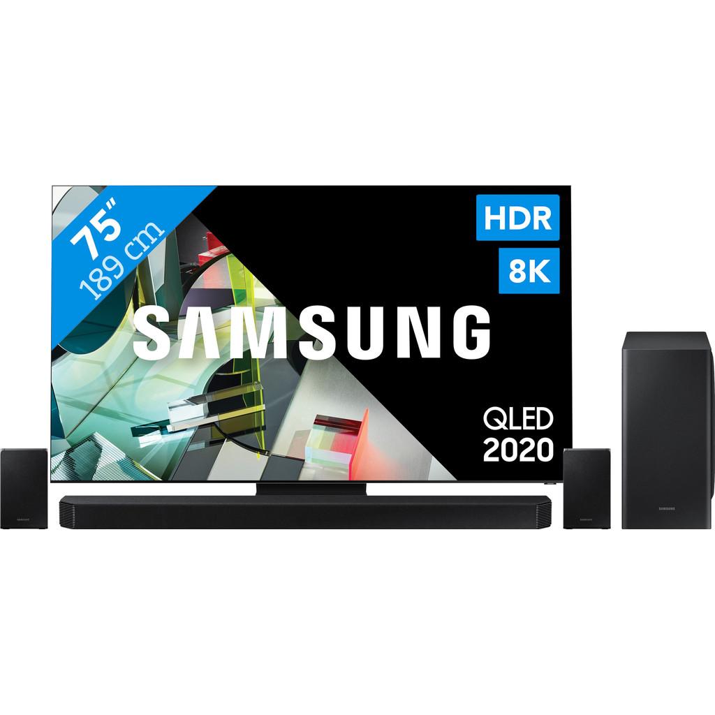 Samsung QLED 8K 75Q900T + soundbar