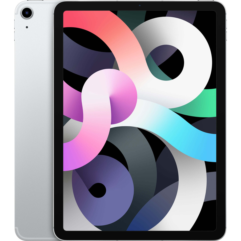 Tweedekans Apple iPad Air (2020) 10.9 inch 256 GB Wifi + 4G Zilver