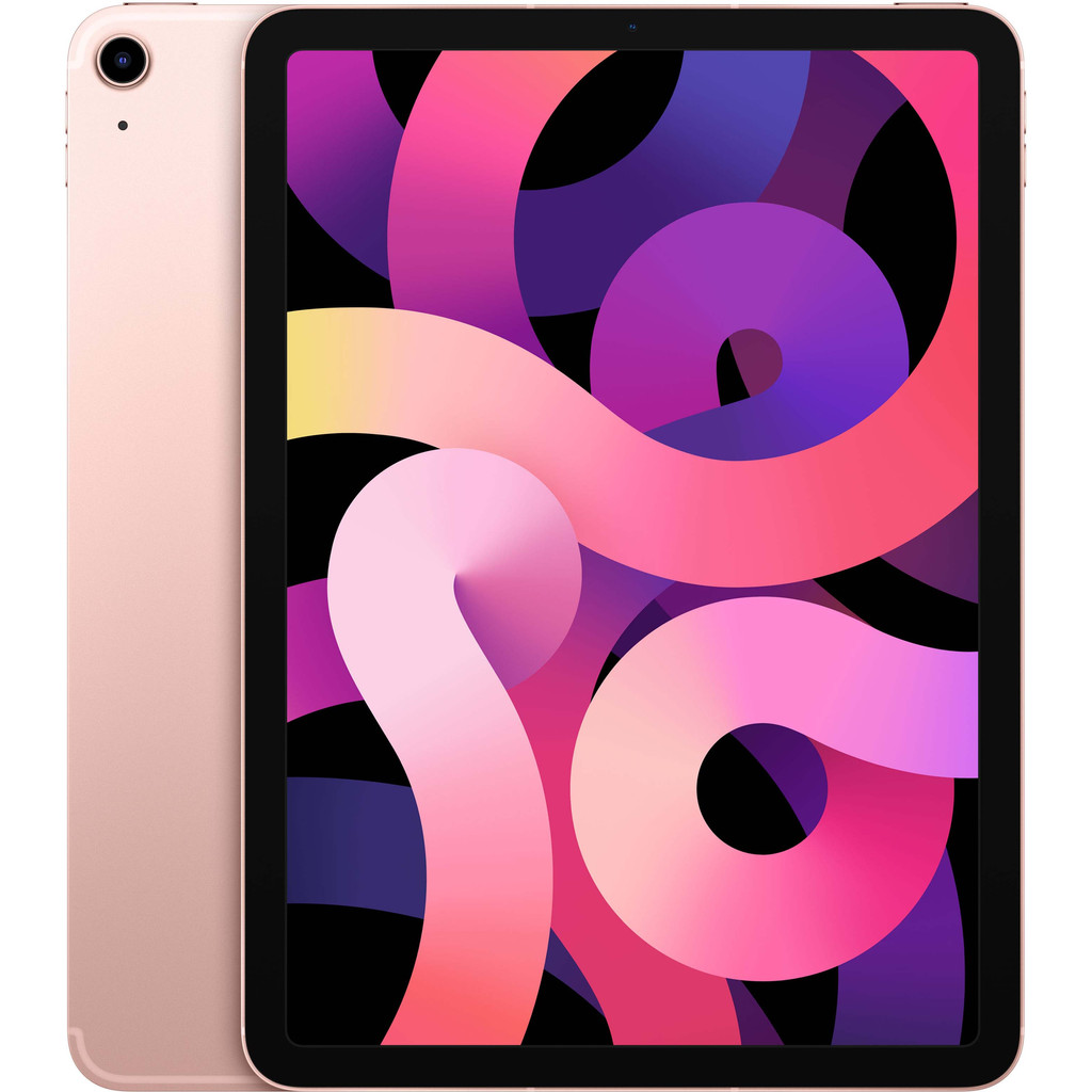 Tweedekans Apple iPad Air (2020) 10.9 inch 256 GB Wifi + 4G Roségoud