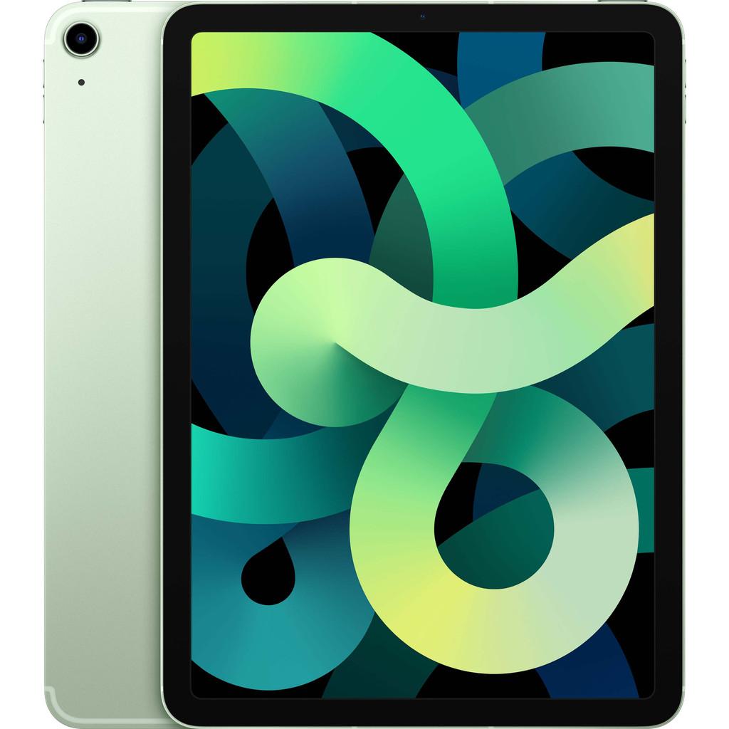 Tweedekans Apple iPad Air (2020) 10.9 inch 256 GB Wifi + 4G Groen
