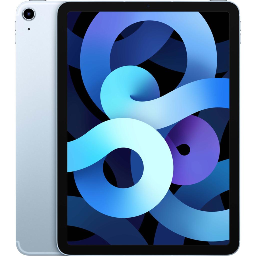 Tweedekans Apple iPad Air (2020) 10.9 inch 256 GB Wifi + 4G Hemelsblauw Tweedehands