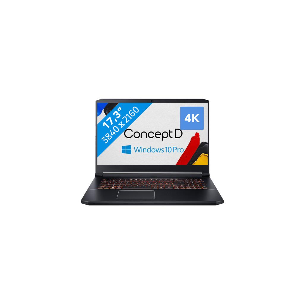 ConceptD 5 Pro CN517-71P-72T0-Krachtig genoeg voor AutoCAD   Intel Core i7 - 32GB - 1TB SSD   NVIDIA Quadro RTX 3000 videokaart