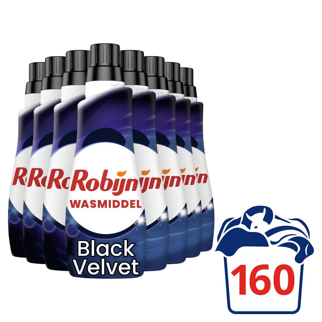 Robijn Klein & Krachtig Black Velvet Wasmiddel - Halfjaarpakket