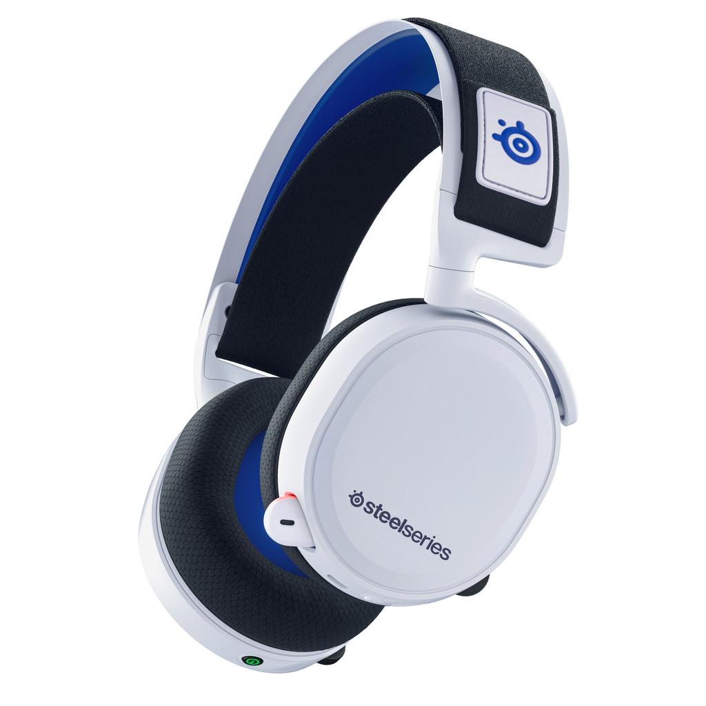 Tweedekans SteelSeries Arctis 7P Draadloze Gaming Headset PS4/PS5 Wit Tweedehands