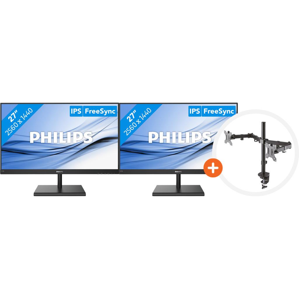 Philips 275E1S 00 NewStar FPMA D550DBLACK
