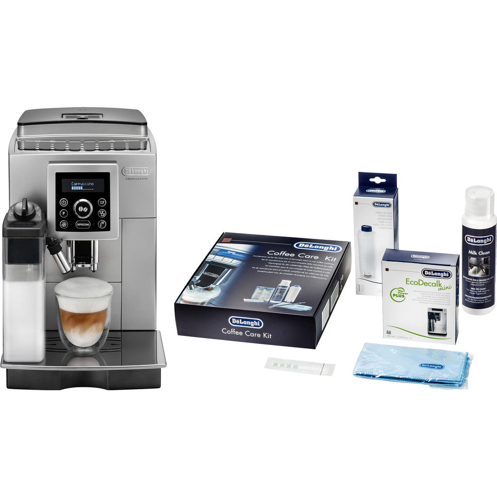 DeLonghi ECAM 23.460.SB + De'Longhi Coffee Care Kit