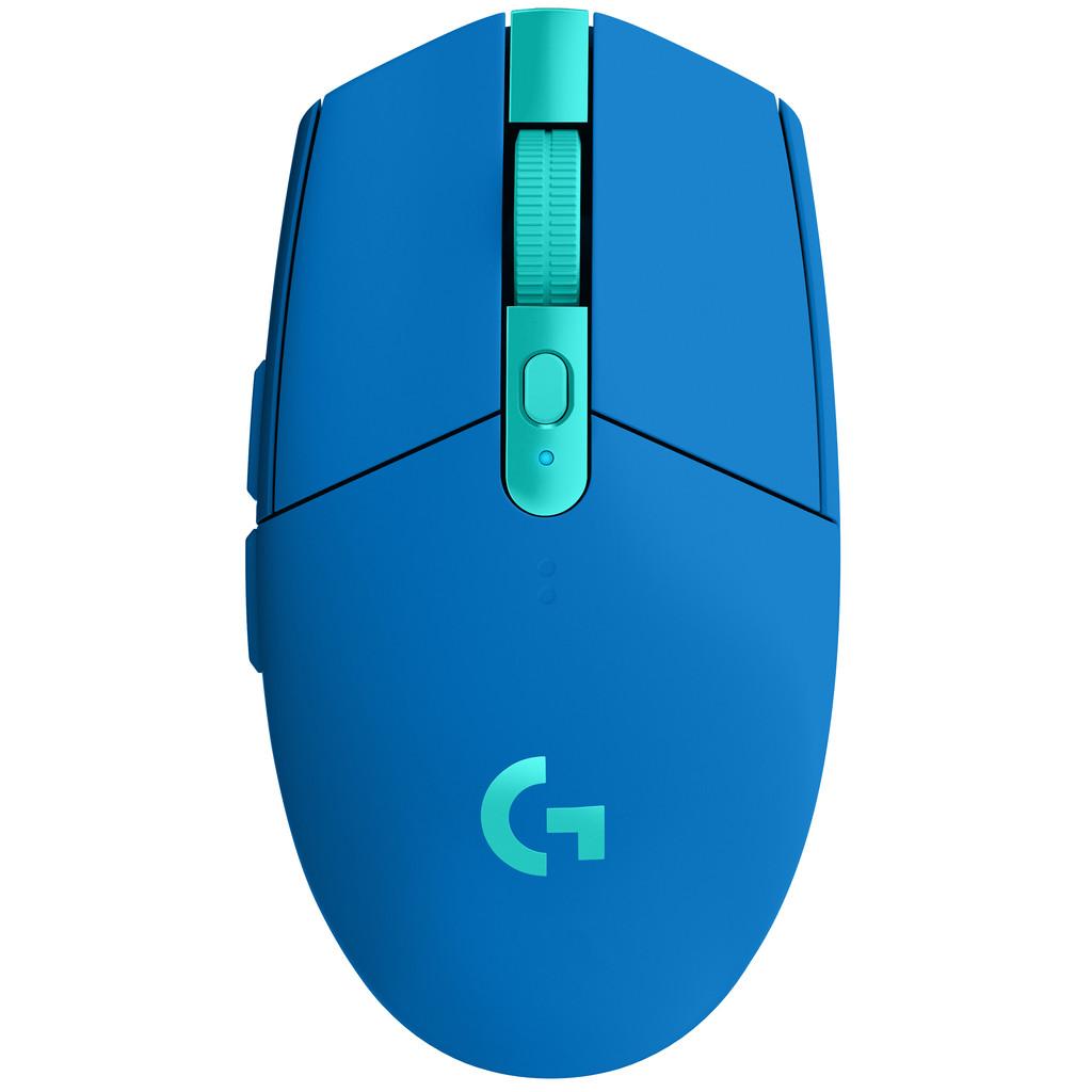 Logitech G305 Lightspeed Draadloze Gaming Muis Blauw