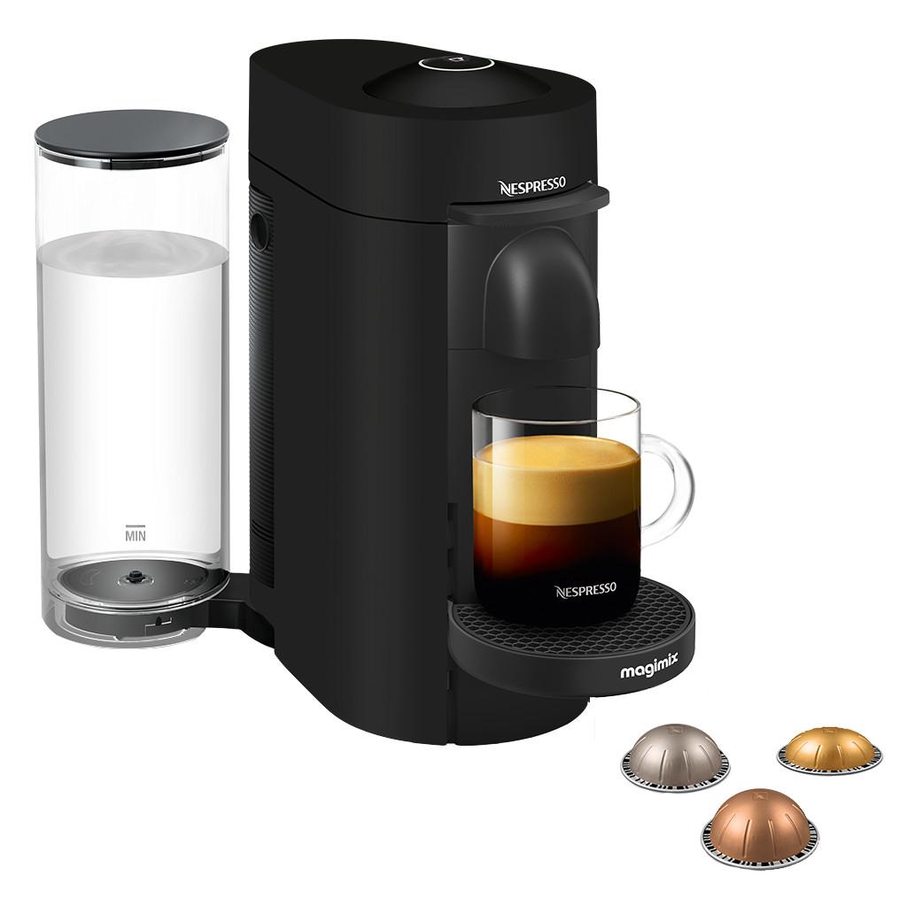Magimix Nespresso Vertuo Plus Deluxe Mat Zwart